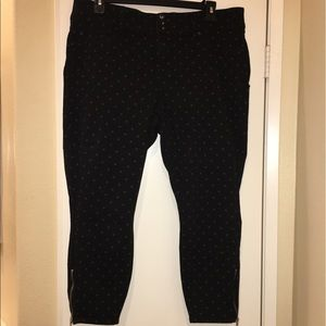 ♦️LIKE BRAND NEW♦️Black and Gray Jeggings